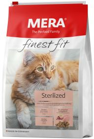MERA Finest Fit Sterilized 10 кг (для стерилизованных/кастрированных кошек)