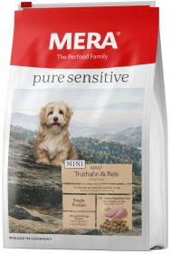 MERA PURE SENSITIVE MINI ADULT TRUTHAHN&REIS 4 кг (для взрослых собак мелких пород с индейкой и рисом)