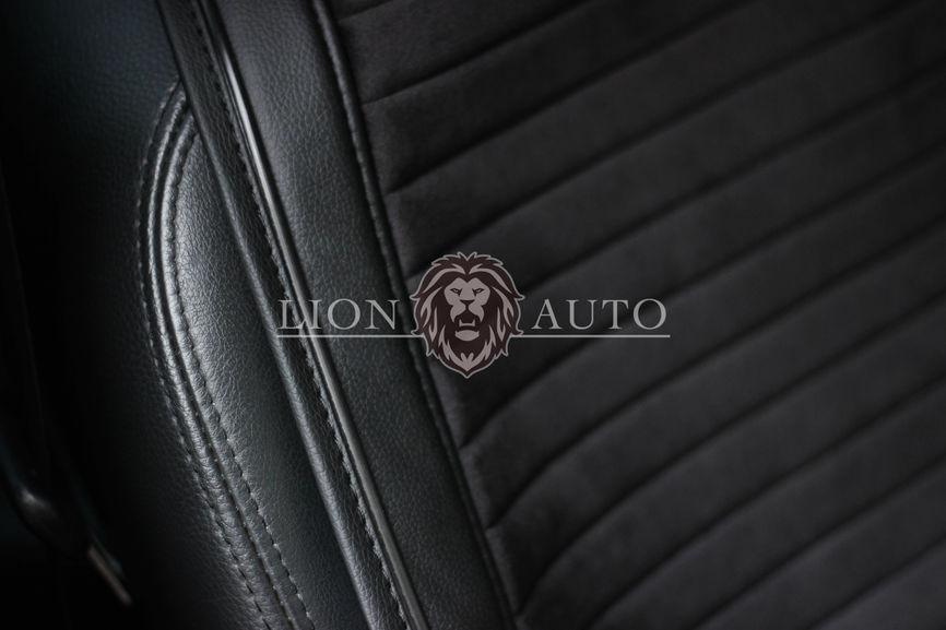 Накидки на сиденья из велюра Premium (черный кант)