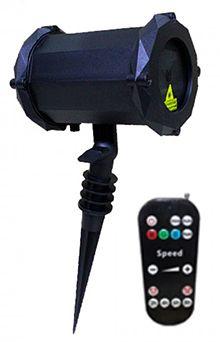 Лазерная подсветка гирлянда для дома X-39P-5-D Красный + Синий + Зеленый RGB (Цветы, Новый год, Хэллуин) + Bluetooth колонка