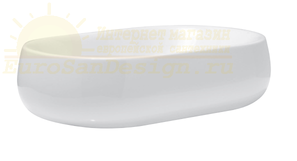 Раковина Azzurra Nuvola NULA06040000/(NUV200/AP6 bi) 60 x 40 ФОТО