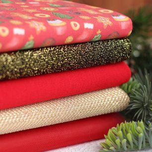 Набор тканей для пошива Имбирный пряник