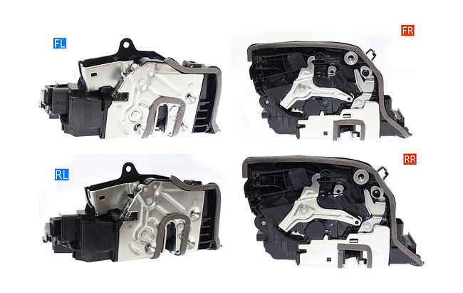 Автомобильный доводчик дверей BMW 2014+ Impulse XD014 (комплект на 4 двери) тип1