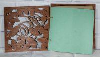 Гостевая книга на свадьбу (свадебная книга) резные листья