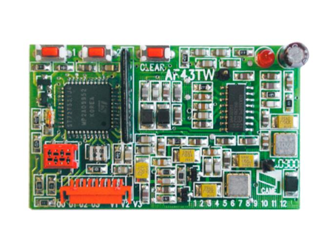 AF43TW Плата-радиоприемник для брелока (001AF43TW)