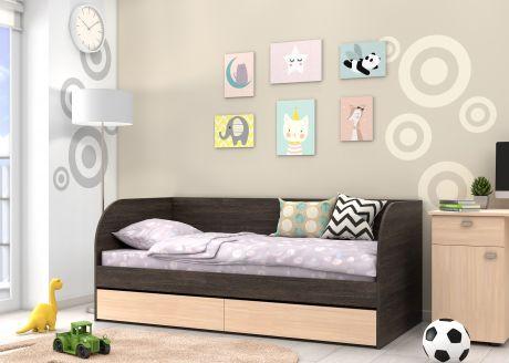 Детская кровать Golden Kids 7 (корпус венге)