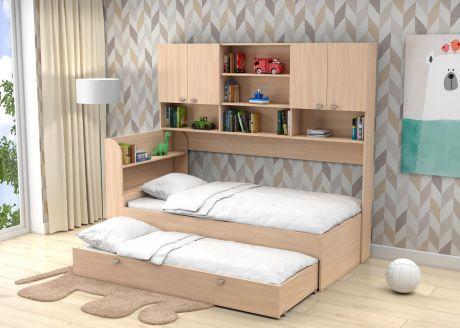 Двухъярусная кровать Golden Kids 8 (корпус дуб молочный)
