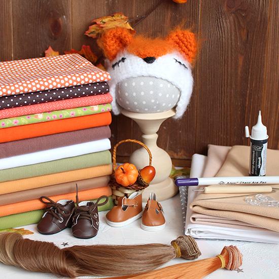 Стартовый набор материалов для творчества Осенний