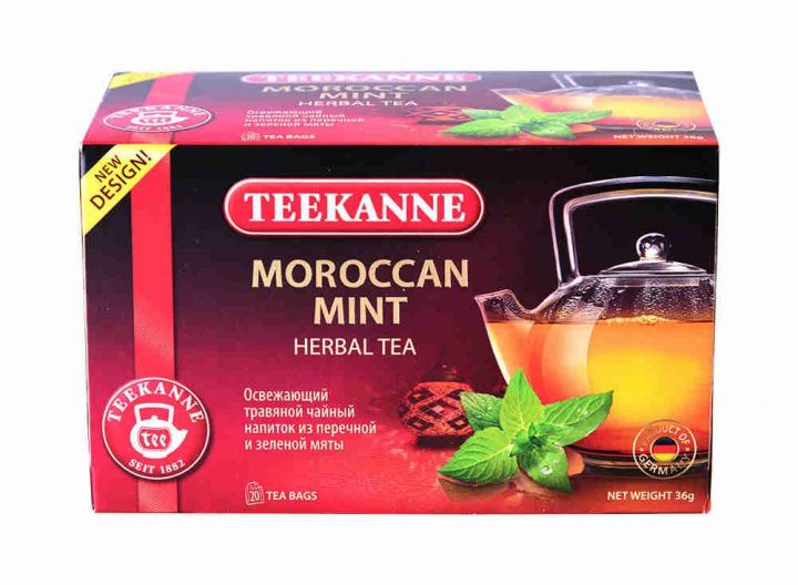 Чайный напиток Teekanne Марокканская мята 20пак*2г