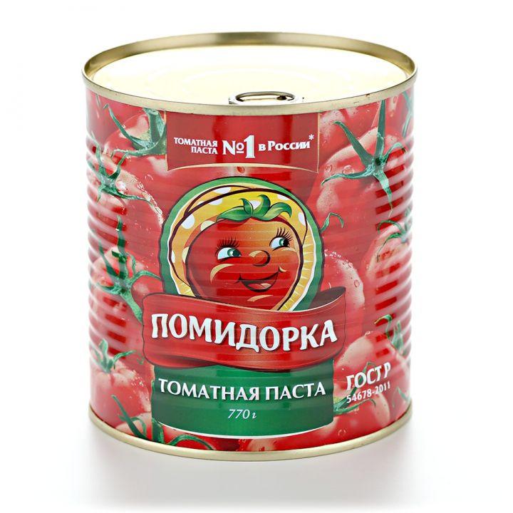 Томатная паста Помидорка ж/б 770г