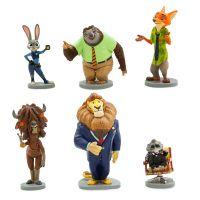 Игровой набор из 6 фигурок Зверополис Дисней