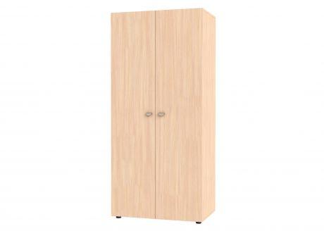 Шкаф двустворчатый GK 900 (корпус дуб молочный)