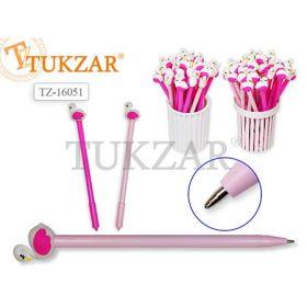 Tukzar Ручка с насадкой Фламинго