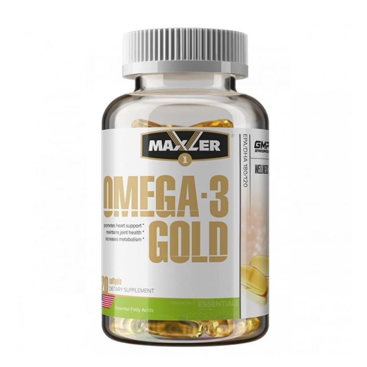 Maxler Omega-3 Gold, 120 капс