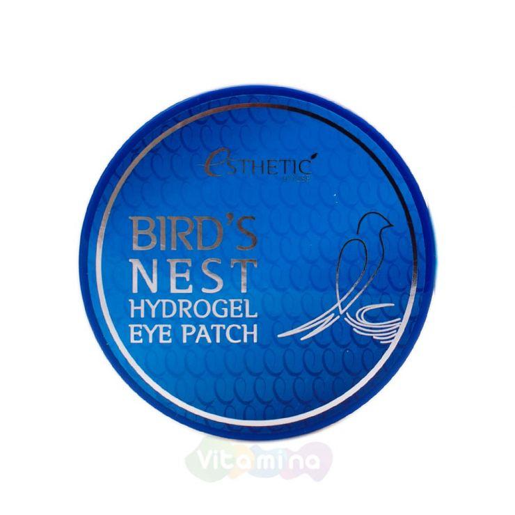 Esthetic House Гидрогелевые патчи для век с экстрактом ласточкиного гнезда Bird's Nest Hydrogel Eye Patch