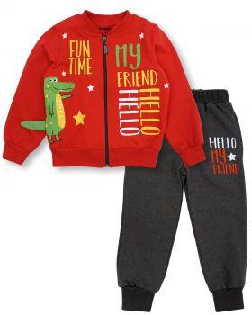 """Спортивный костюм для мальчиков 2-6 лет Bonito """"Hello my friend"""""""