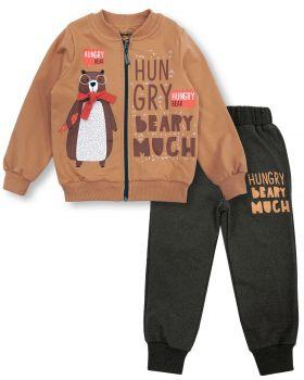 "Спортивный костюм для мальчиков 2-6 лет Bonito ""Hungry Beary"""