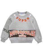 "Свитшот для мальчика 5-8 лет Bonito kids ""Motorcycles"""