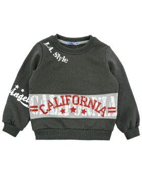 "Свитшот для мальчика 5-8 лет Bonito kids ""California"""