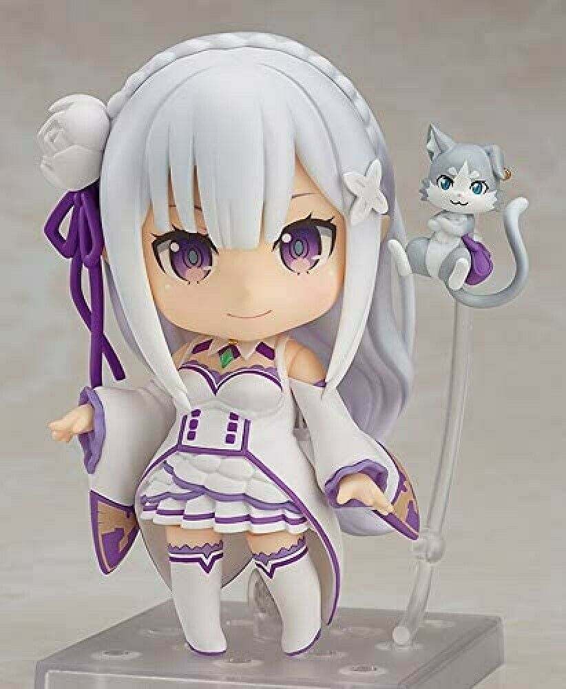 Аниме фигурка  Emilia Zero - Puck - Nendoroid