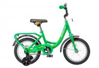 Детский велосипед STELS Flyte 16 Z011 (2018) Зелёный