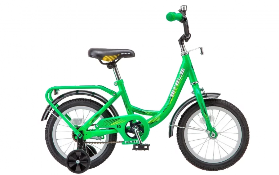 Детский велосипед STELS Flyte 14 Z011 (2018) Зелёный