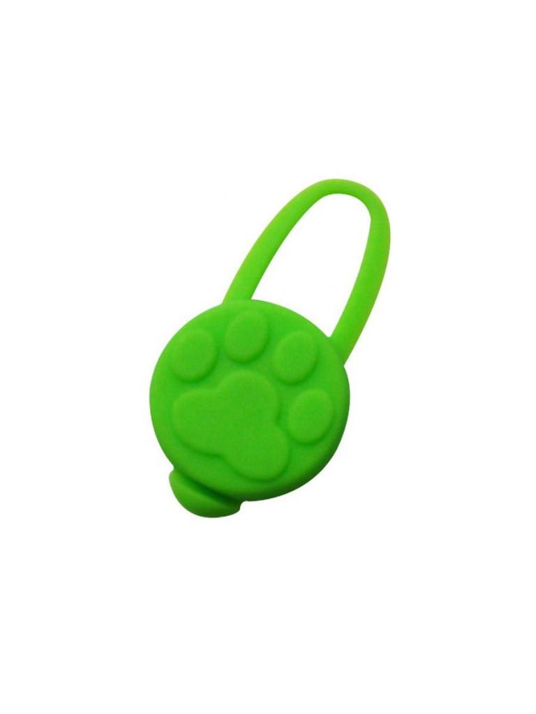 Брелок-маячок для кошек и собак Лапка
