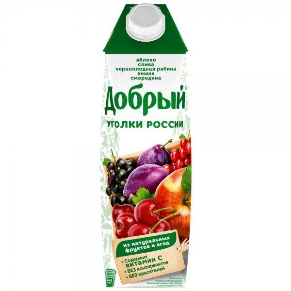 Нектар Добрый 1л Фруктово-ягодный микс