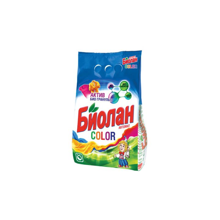 Порошок стир БИОЛАН 2,4кг автомат Color