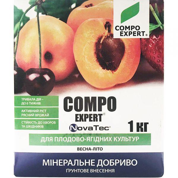 COMPO EXPERT NovaTec для плодово-ягодных (1 кг)