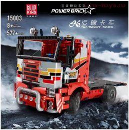 Конструктор MOULD KING RC Transport Truck 15003 577 дет