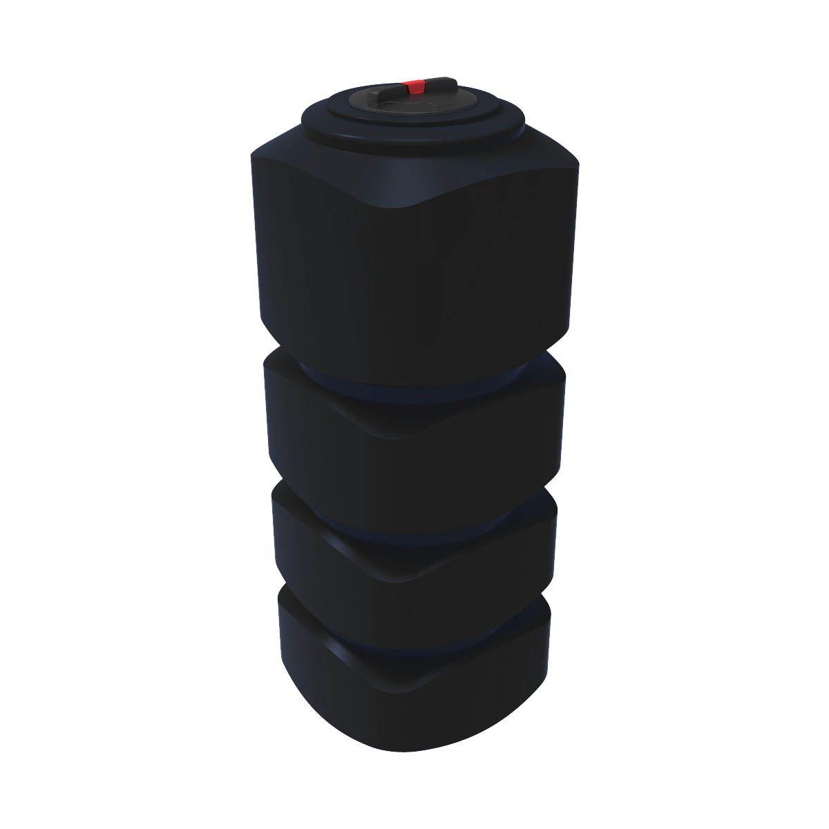 Бак для воды L 1000 литров черный