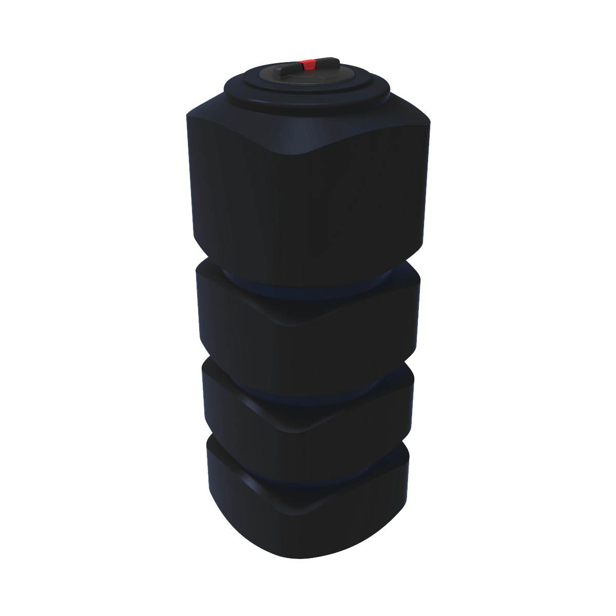 Емкость для воды L 1000 литров черная