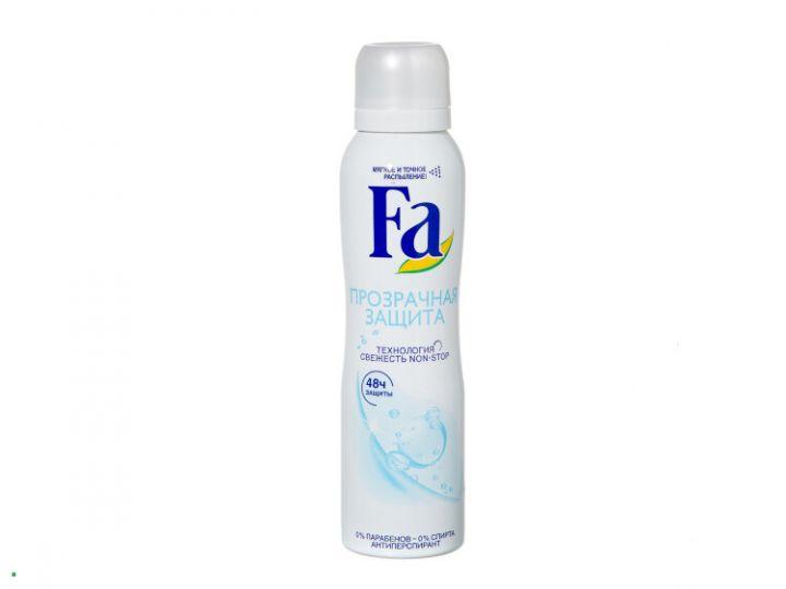 Дезодорант Fa 150мл спрей Чистая защита