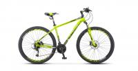 Горный (MTB) велосипед STELS Navigator 910 D 29 V010 (2020) Лайм/черный