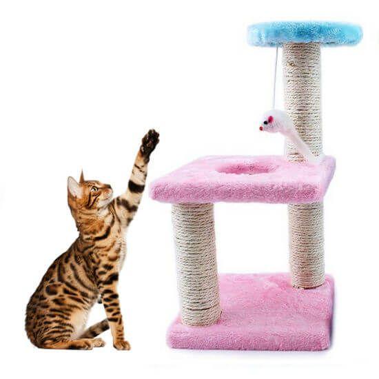 Игровой комплекс для кошек, Розовый