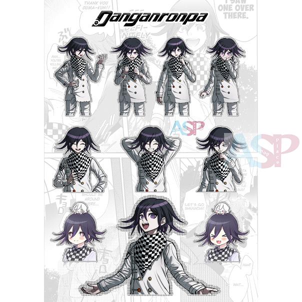 Стикеры Danganronpa