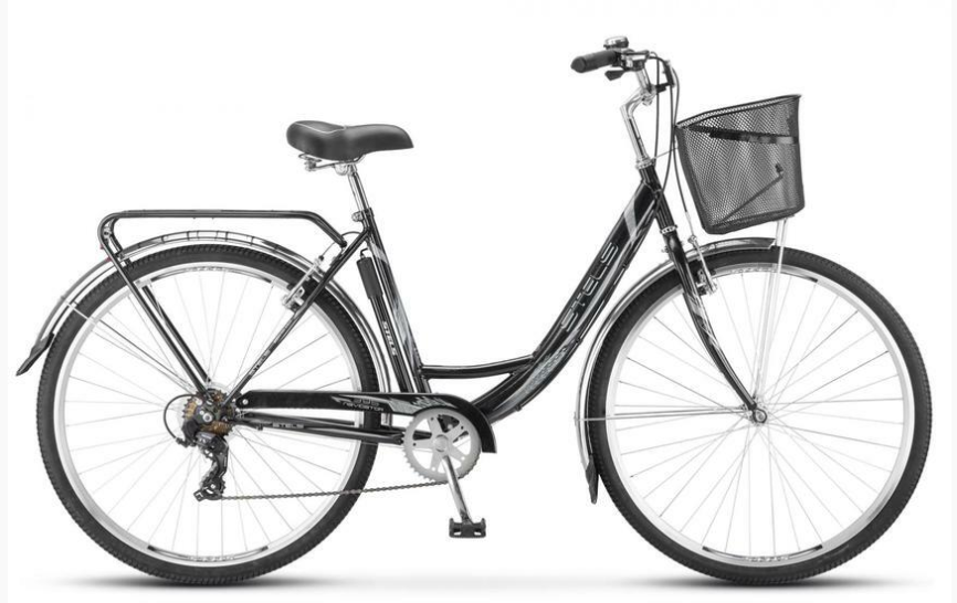 Городской велосипед STELS Navigator 395 28 Z010 Черный