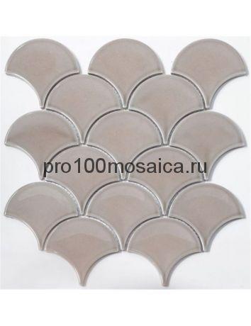 PS7300-45. Мозаика чешуйки  серия RUSTIC, размер, мм: 259*273*5 (NS Mosaic)