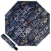 Зонт складной Moschino 8600-OCA Boombox Black