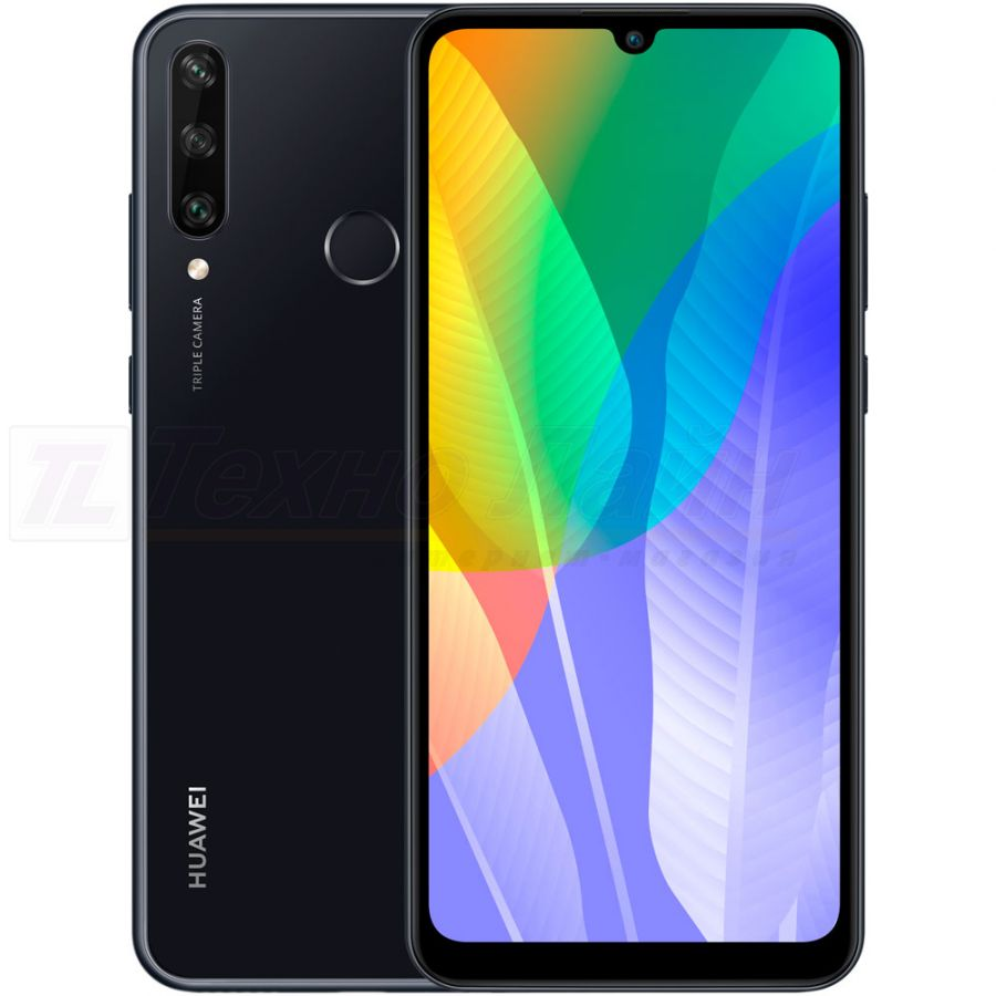 Huawei Y6p 3/64GB NFC Midnight Black