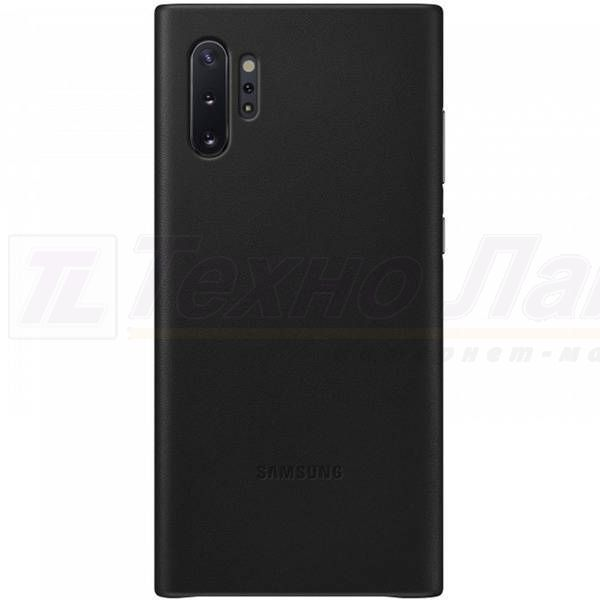 Чехол Samsung Leather Cover Note 10+ black