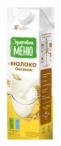 Молоко Овсяное Здоровое меню 1 л