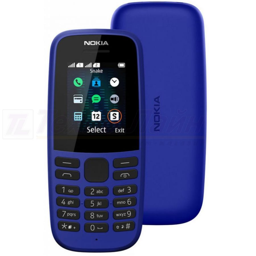 Nokia 105 DS Blue