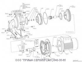 Запасные части для насоса KSB ETALINE 032-032-160