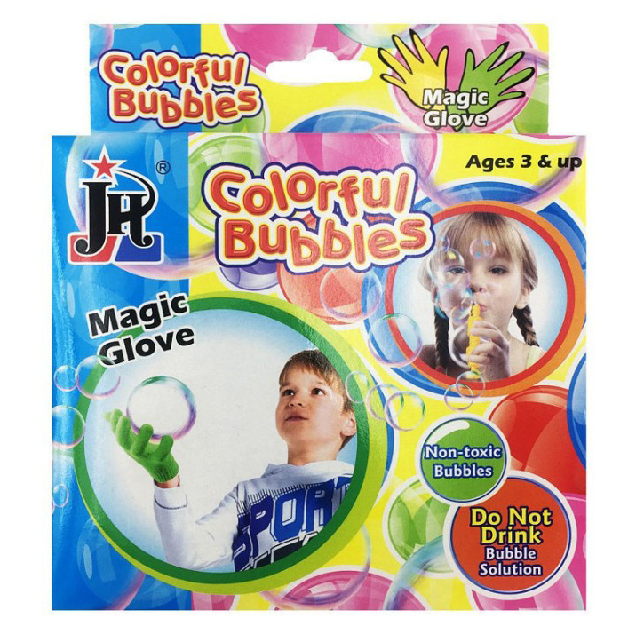 Набор для создания мыльных пузырей с волшебными перчатками