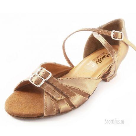 Туфли для бальных танцев телесные
