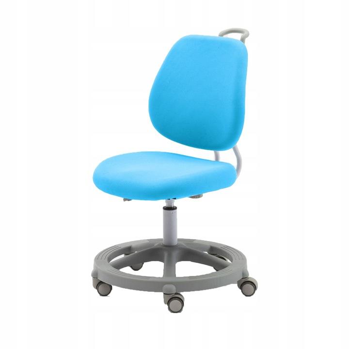 Регулируемое вращающееся кресло Pratico Blue