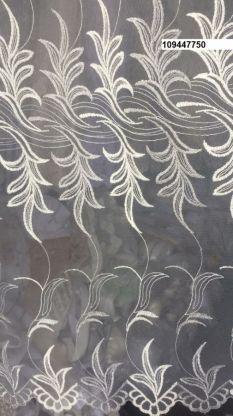 Тюль вышивка на сетке Турция 750