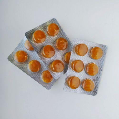 Леденцы Тулси-имбирь | Sangam Herbals | 6 таб.